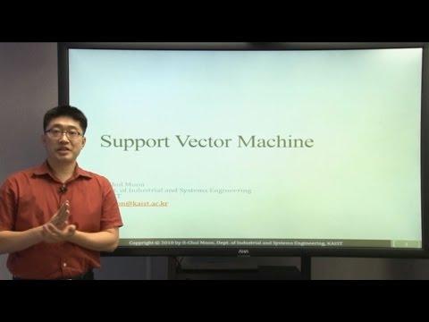 (기계 학습, Machine Learning) Week 5 Support Vector Machine | Lecture 1 Decision boundary with Margin