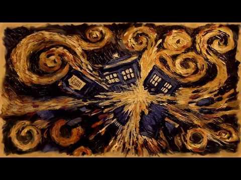 Tardis Exploding Oil Painting (Metal Song)