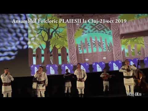 Ansamblul folcloric PLAIESII din Basarabia la Cluj -21 oct 2019