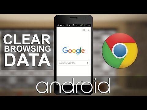 Menghapus Riwayat Penelusuran Google Chrome di Android
