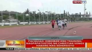 BT: Mga taga-media, napabilib sa workout ni Pacman
