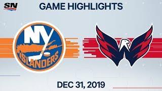 NHL Highlights   Islanders vs. Capitals - Dec. 31, 2019