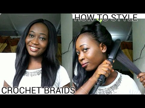 How To Style Crochet Braids(Outre Kanekalon Hair)