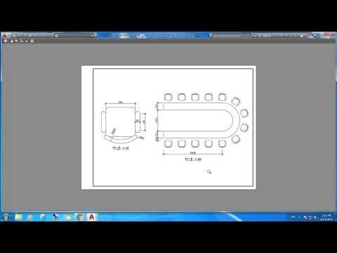 Hướng dẫn trình bày bản vẽ nhiều tỉ lệ bằng Layout với kiểu kích thước Annotative trong AutoCAD