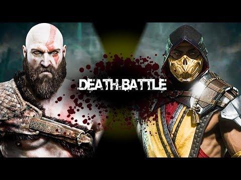 KRATOS  VS SCORPION (HULK SCRIPT) - Epic Battle