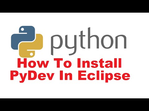 How to Install Python and PyDev Plugin in Eclipse + Create a Simple PyDev Project