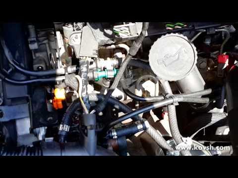Корпус топливного фильтра форд транзит 2 5 дизель