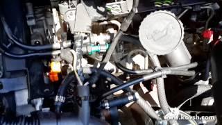 Замена конструкции топливного фильтра на CITROEN Jumpy