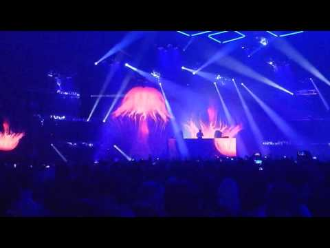 DJ Martin Garrix Performance in Las Vegas at the AWS re:Play Party