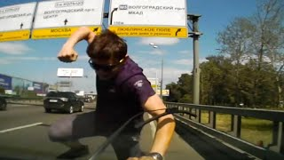 Car Crashes, Crazy Drivers & Road Rage | Compilation JULY 2014 #6 part