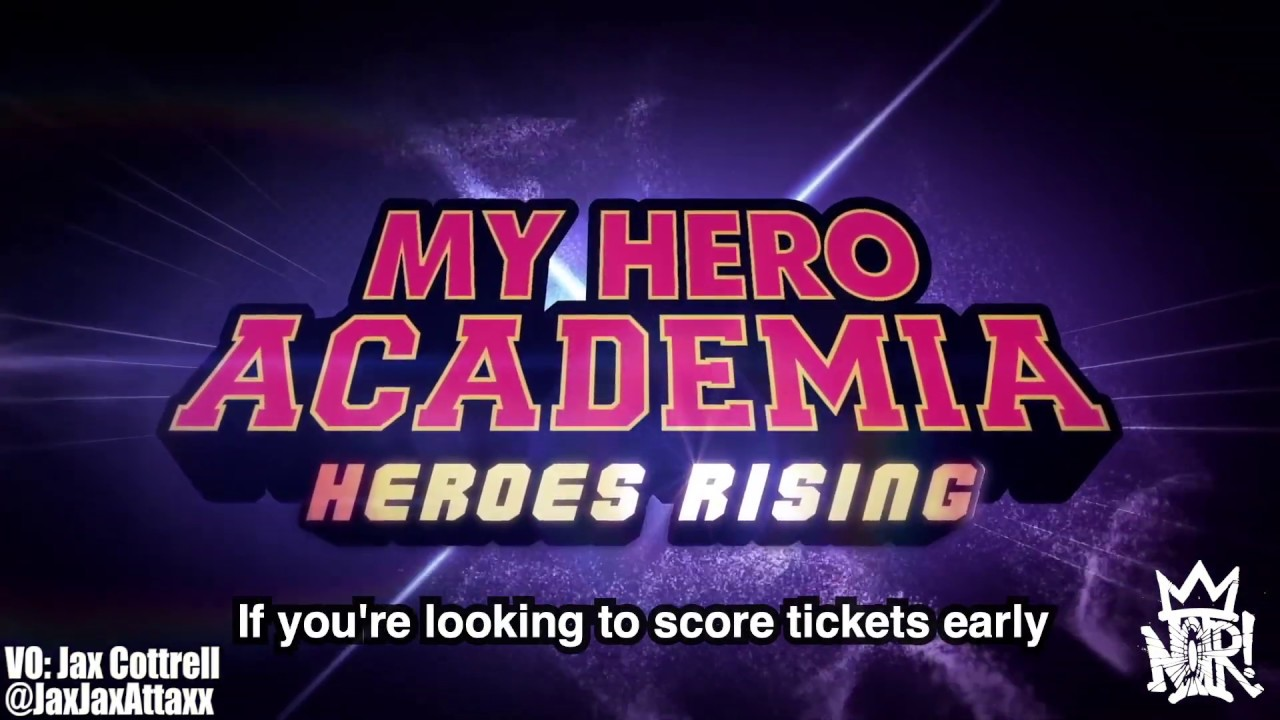 "#NOiRNews: ""My Hero Academia: Heroes Rising"" Releases February 26th, 2020!"