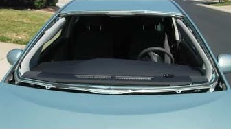 Toyota Prius Windshield Replacement - What to look for on a good windshield replacement.