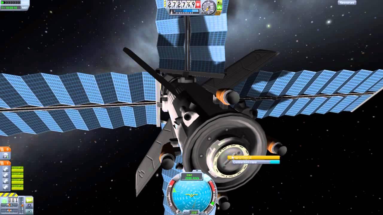 Kerbal Space Program - How to Dock Tutorial - YouTube