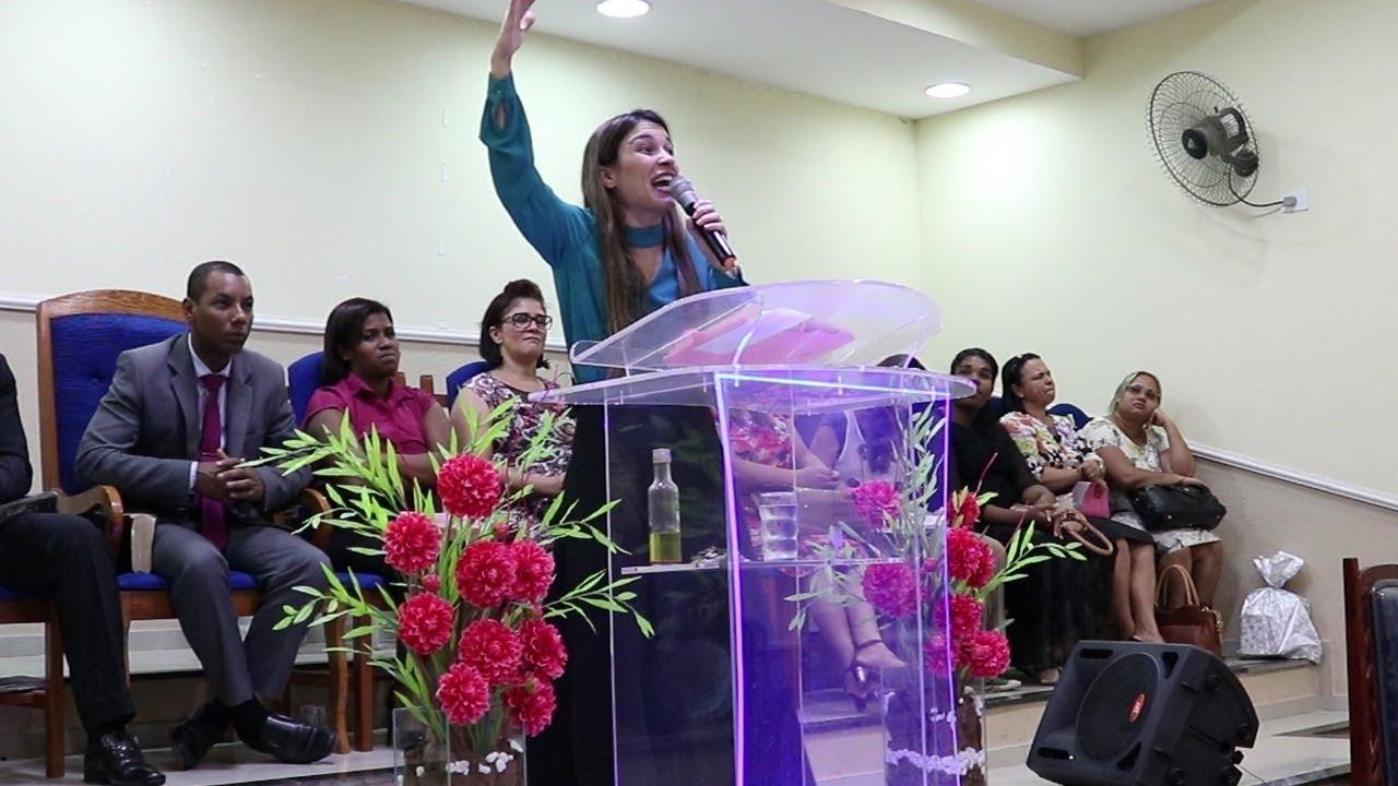 Pregação Evangélica Rei Davi, O valor de um gigante (Pregadora Lunna Lia) 2018