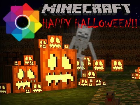 Ishak Plays Minecraft| Episode 1 | EARLY TRICK OR TREATING!!