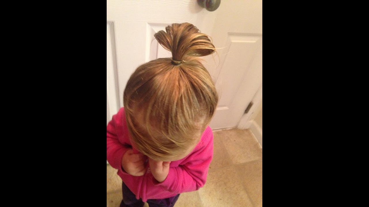 unfinished ponytail bun tutorial dads guide to surviving hair