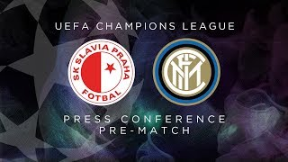 Live from Prague, the Antonio Conte and Stefan De Vrij pre-match press conference for Slavia Praha vs Inter – our Matchday 05 encounter in Group F of the ...