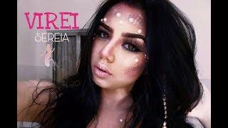 Maquiagem de Sereia - Mermaid Makeup