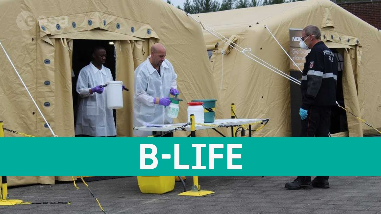 B-Life - Space enabled mobile lab fighting COVID-19
