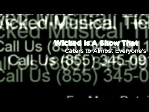 Wicked Tickets for sale, Buy Wicked tickets on Broadway | TicketDude