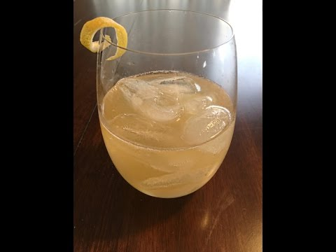 LOW CARB Whiskey Sour