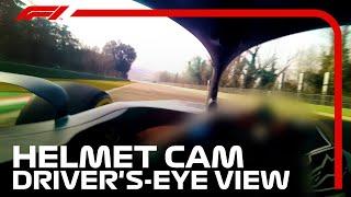 Incredible Visor Cam Footage with Yuki Tsunoda at Imola