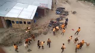 Destroy by Mass of people Somewhere in Nepal.(2)
