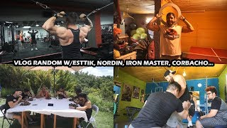Baixar VLOG RANDOM: ENTRENO, RETOS COMIDA... W/ESTTIK, NORDIN, IRONMASTER, IVAN...