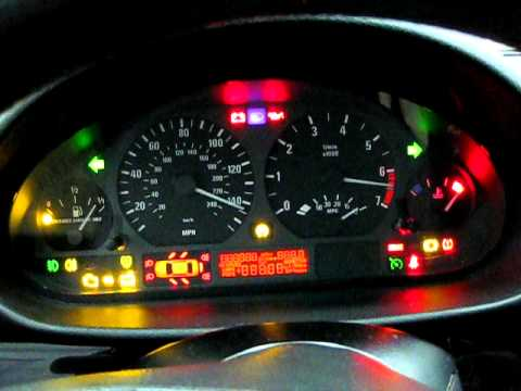 BMW Instrument Cluster Reset - YouTube