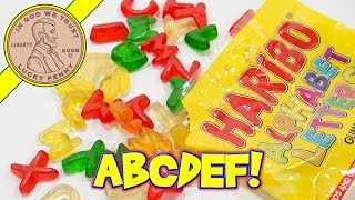 Haribo Alphabet Letters Gummi Candy - Eat Your Words!