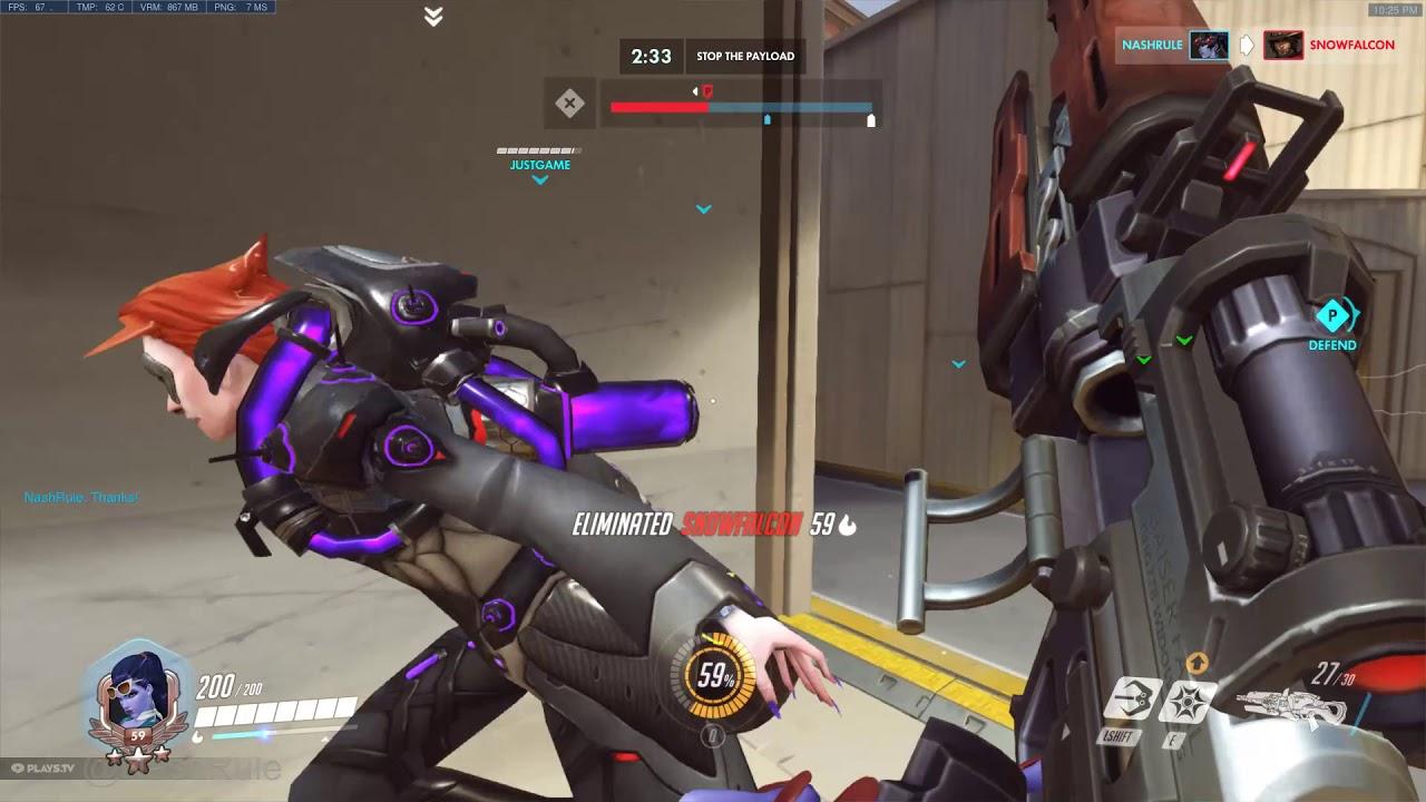 Overwatch - Widow maker gameplay - PS4 - YouTube