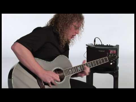 AC-33 Acoustic Chorus Guitar Amplifier Overview