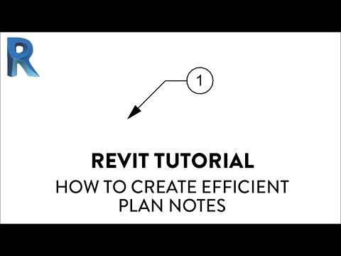 6 Steps To Create Efficient Plan Notes In Revit — REVIT PURE