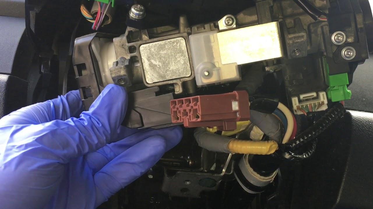2014 Honda Odyssey Wiring Diagram Honda Ignition Switch Replacement Diy Youtube