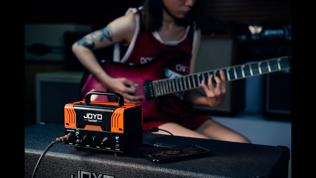 Joyo Debuts New Bantamp FireBrand Lunchbox Amp   Guitarworld