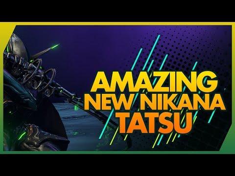 Warframe: TATSU || THE ULTIMATE TRUE NINJA NIKANA BUILD 4 FORMA thumbnail