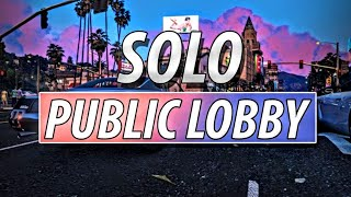 How to get Into a Solo Public Lobby in GTA 5 2020 Method  (Ps4/Xbox)