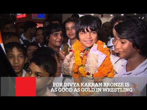 For Divya Kakran Bronze Is As Good As Gold In Wrestling