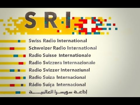 Last English shortwave broadcast of Swiss Radio International (SRI)