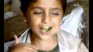 The effects of QAT on a Yemeni boy!