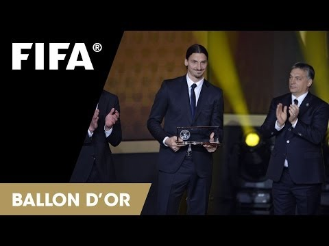 Zlatan Ibrahimović: FIFA Puskas Award Reaction