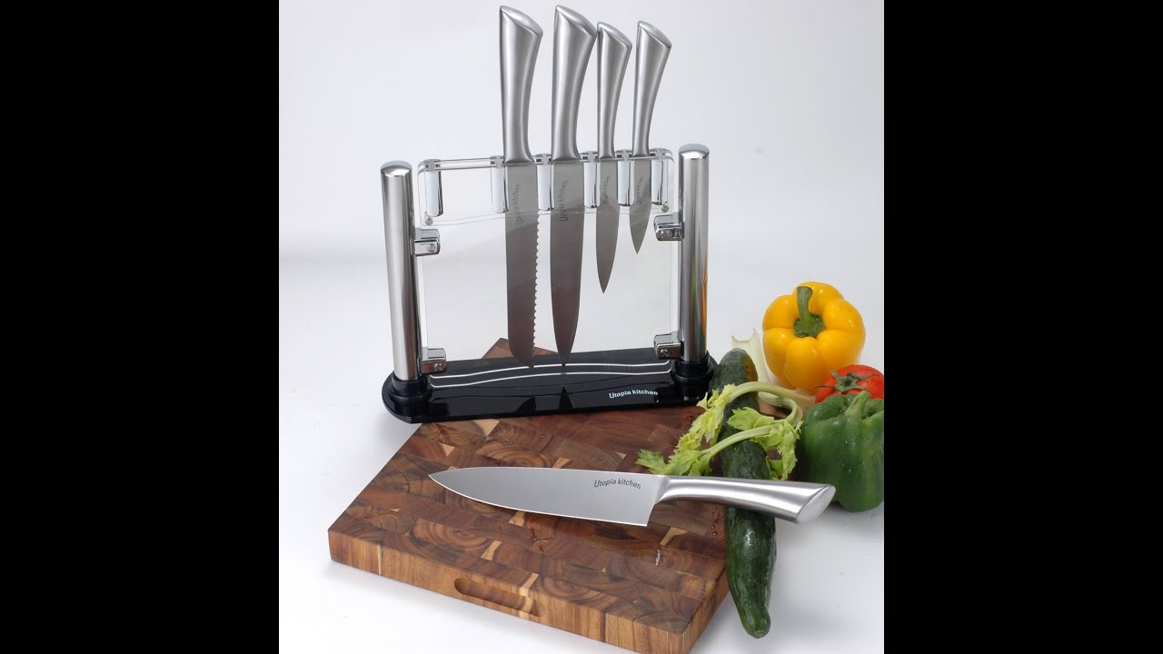 Review: Premium Class Stainless-Steel Kitchen 6 Knife-Set