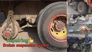 Repairing Suspension system and fitting with small tools