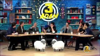 Mustafa Keser Canlı Yayında İsyan Etti | 3 Adam | Sezon 3 Bölüm 5 | 9 Aralık 2015