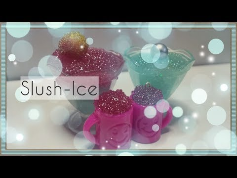 DIY Slushy/ Resin Fake Slushice ,/Slush Ice  ( Cruched Ice ) Do it yourself ^^