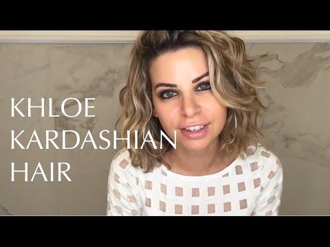 Khloe Kardashian Hair - 2017 - YouTube