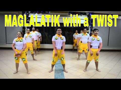 Maglalatik Folk Dance with a Twist