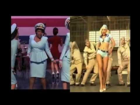 Glee Vs.Christina Aguilera- Candyman