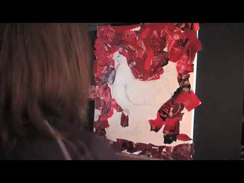 Timelapse Art with Funny Vegan Chicken Song