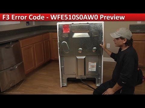 F3 Error Code -- Whirlpool, Kenmore & Roper  Range